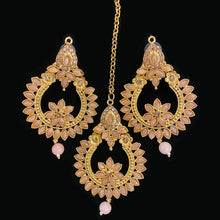 Kunj Earring & Tikka Set - Vintage India NYC