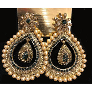 BN chandbali earrings