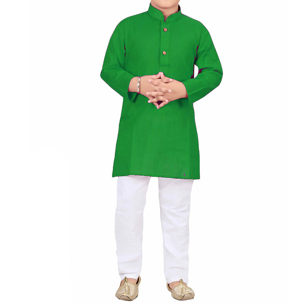 IE Boys Cotton Kurtas-3 Colors