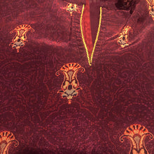 PK Burgundy Salwar Set - Vintage India NYC