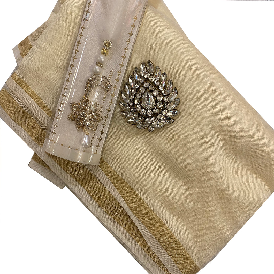 Cora Silk Safa - Vintage India NYC