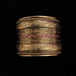 IF Brass Cuff 2 - Vintage India NYC