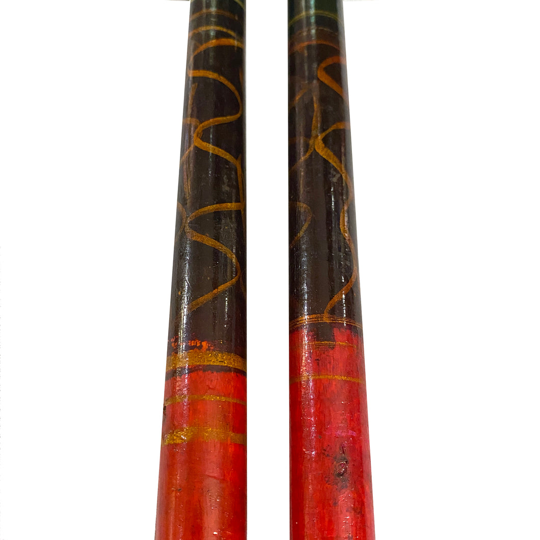 Dandiya sticks - Vintage India NYC