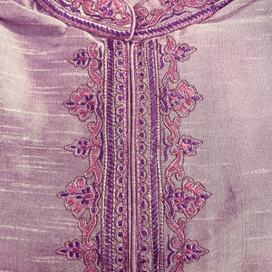 DT Lavender Short Kurta - Vintage India NYC