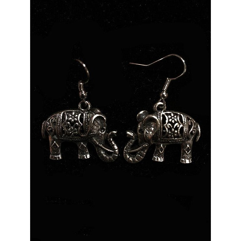 Elephant earrings - Vintage India NYC