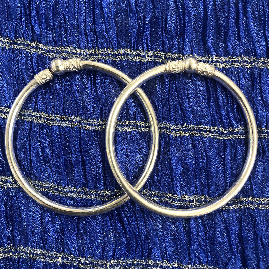 ILK Pure Silver Bracelets - Vintage India NYC