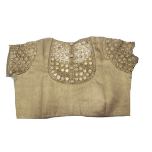 RI Gold Embroidered Plus Size - Vintage India NYC