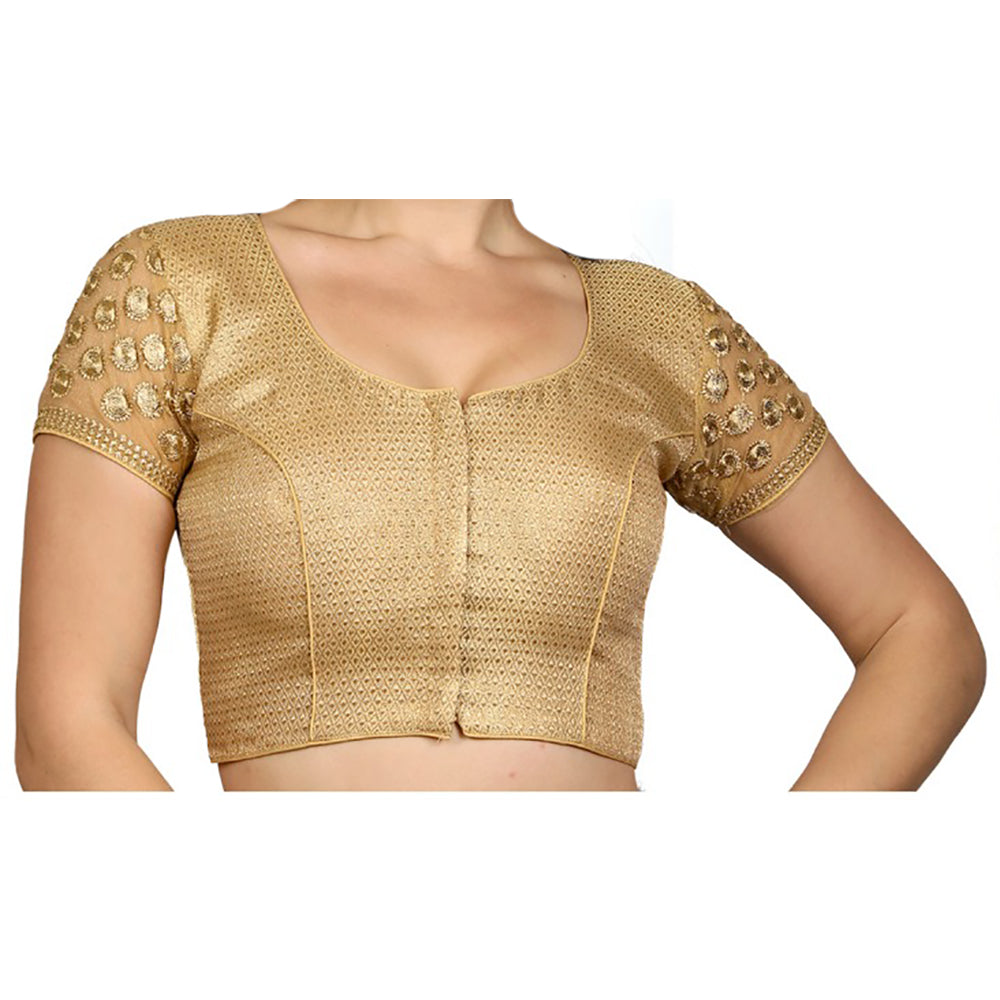 RI Gold Embroidered Plus Size