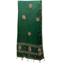 Vintage Heavy Work Dupatta Scarf - Vintage India NYC