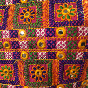 IE Mirrorwork Choli Blouse - Vintage India NYC