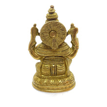 GM Brass Ganesh 5 in - Vintage India NYC