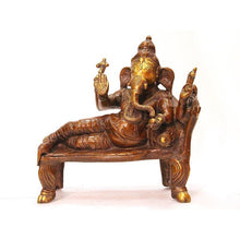 AK Ganesh on couch