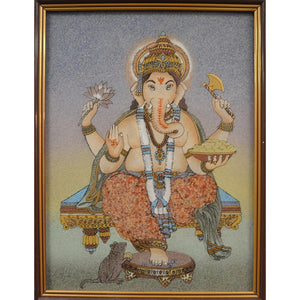Hand-painted Ganesh