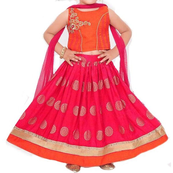 MJ Girls Lehenga Set