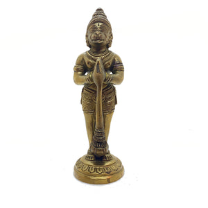 GM Brass  Hanuman 5 in - Vintage India NYC