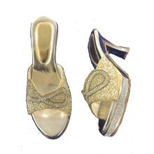 DT Gold Sandals3 - Vintage India NYC