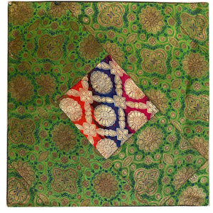 Silk Pillow Covers-Greens - Vintage India NYC