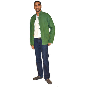 organic cotton short jacket - Vintage India NYC