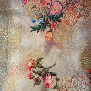 IE Floral Scarf-3 colors - Vintage India NYC