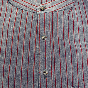 Striped Khadi Kurtas-Size 38 - Vintage India NYC