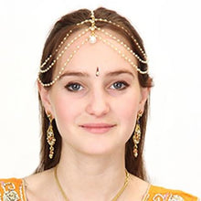 Jeweled headpiece-Matha patti