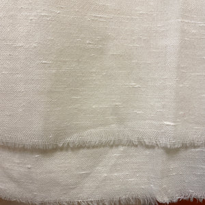 Ivory Gents Shawl - Vintage India NYC