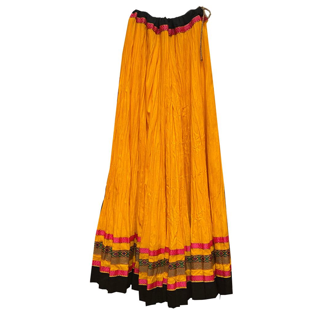 Cotton Full Gher Skirt - Vintage India NYC