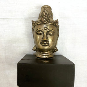 Buddha Head Incense holder - Vintage India NYC