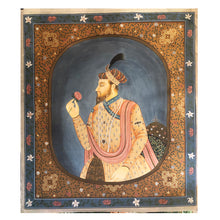 Mughal Painting-Male - Vintage India NYC