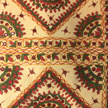 JM Mirror & Threadwork Bedcover - Vintage India NYC
