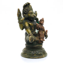 GM Brass Narsimha 4.5 in - Vintage India NYC