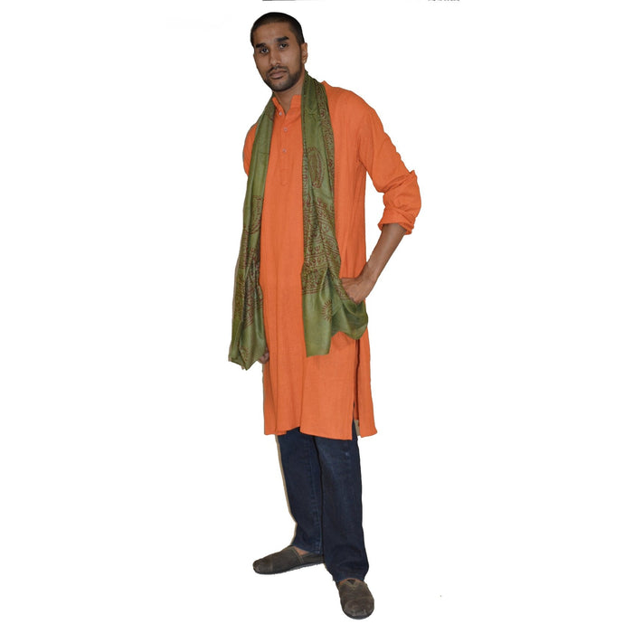 Organic cotton long kurta