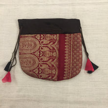 DB Sari pouch Lg - Vintage India NYC