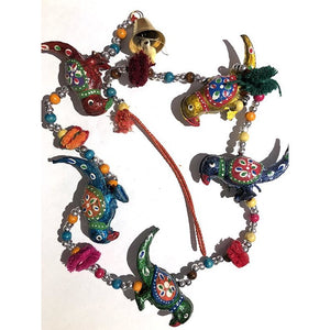 AE 5 Animal Hanging Ornament - Vintage India NYC