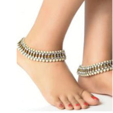 IF Jeweled ankle bracelets