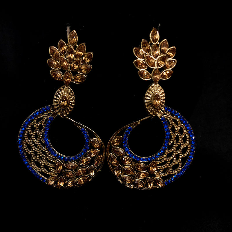 IF Peacock earrings