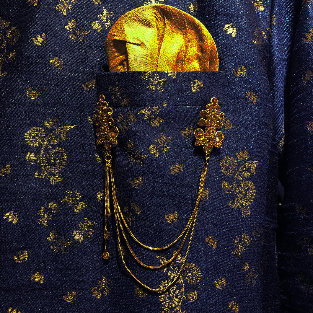 YD Gold Pocket Jewelry - Vintage India NYC