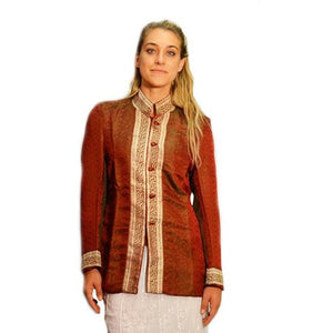 Hand made Silk Nehru Short Jacket