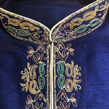 MJ Royal Embroidered Short Kurta - Vintage India NYC