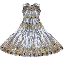 DT Silver Gown - Vintage India NYC