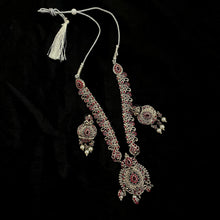 Silver Necklace Set - Vintage India NYC