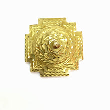 GM Brass Sri Yantra - Vintage India NYC