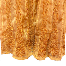 Gold Lucknowi Dress - Vintage India NYC