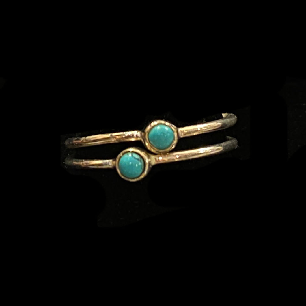 Turquoise Ring - Vintage India NYC