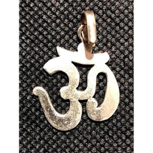 VD Silver OM Pendant - Vintage India NYC