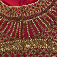 Vintage Dark Pink Choli - Vintage India NYC
