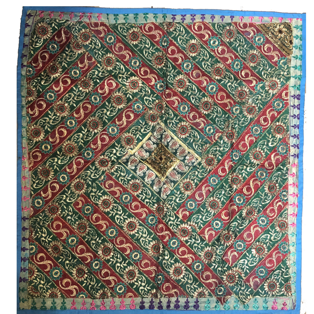 Wall hanging square 04 - Vintage India NYC