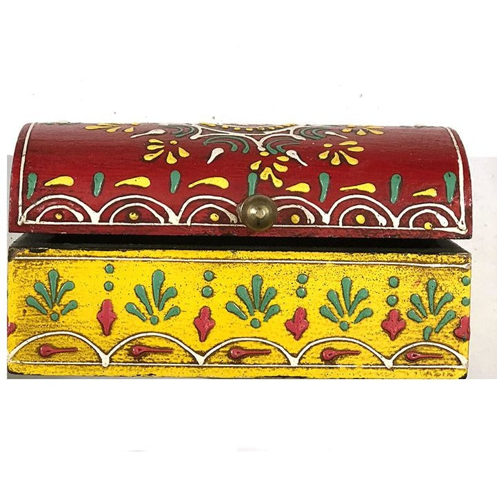 AE wooden painted box 55