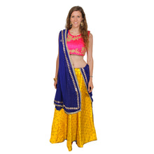 IE Gold Dot Lehengas - Vintage India NYC
