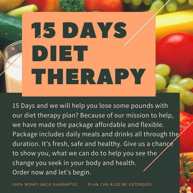 15 DAYS DIET PLAN THERAPY